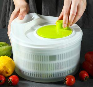 Salatschleuder mit 3L , Unverzichtbar in jeder Küche: Nur einige Umdrehungen und der Salat ist trocken