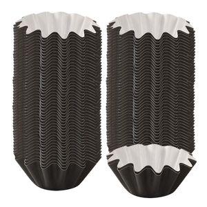 Wax Melt Warmer Liner Auslaufsicheres Wachsfach Schwarz 8x8x3.2cn