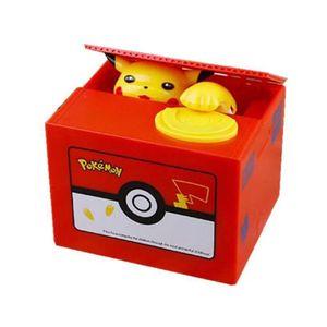 Sparschaler  Elektronische Geld Box Pokemon Pikachu Sparschwein Stehlen Münze Automatisch Kinder Geburtstag Weihnachten Geschenk