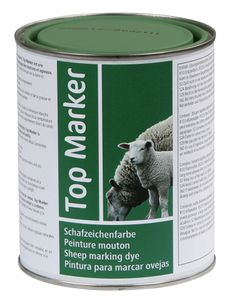 Schafzeichenfarbe 1 kg, grün