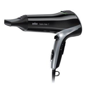 Braun Satin Hair 7 HD 710 Haartrockner (Föhn/Fön) mit IONTEC Technologie (inklusive Styling Aufsatz)
