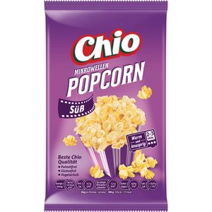 Chio Mikrowellen Popcorn Süß glutenfrei vegetarisch vegan 120g