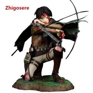 Anime Attack on Titan Levi Ackerman Abbildung 18cm Spielzeugmodell Figur