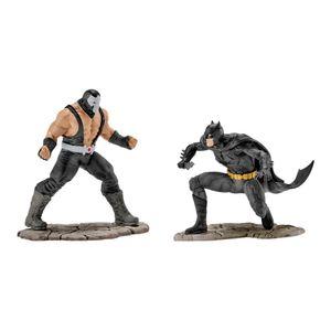 Schleich DC Comics Batman vs Bane, Superheld, Bösewicht, Actionfigur, Spielfigur, Figuren, 22540