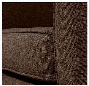 Max Winzer Livia Sessel - Farbe: schoko - Maße: 70 cm x 70 cm x 74 cm; 2899-1100-1645292-F01