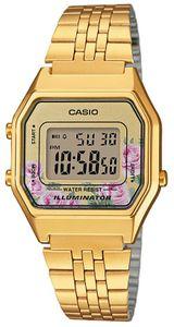 Casio Uhr Damenuhr Retro Armbanduhr LA680WEGA-4CEF Digitaluhr