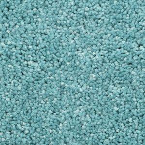 Teppichboden, Auslegware, Meterware, 400 cm x 350 cm, türkis, Blauer Engel , Kurzflor