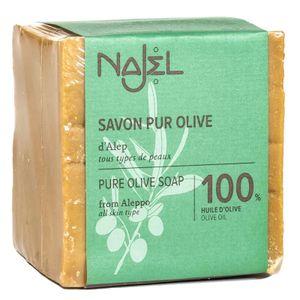 Najel Aleppo Seife 100 % Olivenöl im 3 er Pack a 200 g