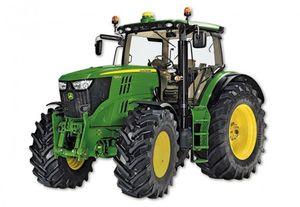 Siku Traktor JOHN DEERE 6210R Spielzeugtraktor grün; 3282