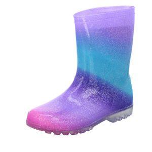 Sneakers Kinder-Gummistiefel Mehrfarbig , Farbe:blau, EU Größe:33