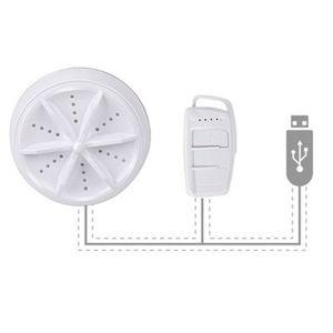 Typ A Viergang-Einstellart,Multifunktionale Mini-Waschmaschine, tragbare Reiseturbo-Rotationswaschmaschine