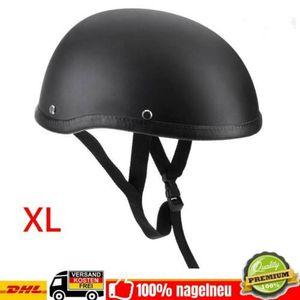 Motorredhelm Helme Halbschale Schutzhelm Rollerhelm für Motorred Roller Chopper