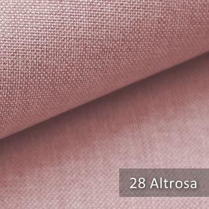 novely® LUSO Möbelstoff   Polsterbezugsstoff   Altrosa   M-LUS-28