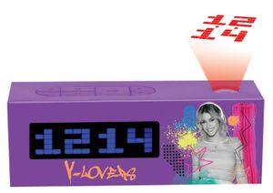Lexibook Disney Violetta Projector Uhrenradio