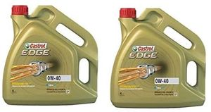 GroßhandelPL Castrol Edge Synthöl 0W-40 CAS-003 Motorenöl, 2er Pack 2 x 4L
