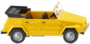 WIKING kleinwagen 1VW 181:87 gelb/schwarz