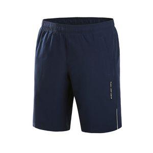 Herren Sommer Plus Size Dünne schnell trocknende Strandhose Casual Sports Short Pants Größe:L,Farbe:Dunkelblau