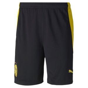 PUMA BVB Shorts Replica PUMA BLACK-CYBER YELLOW PUMA BLACK-CYBER YELLOW M