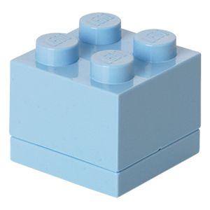 Lego Mini Box hellroyalblau
