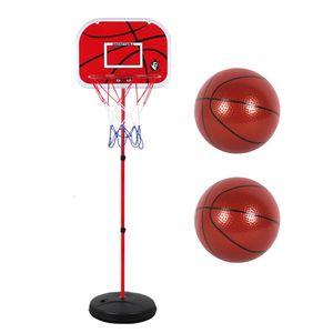 Hoehenverstellbarer Basketballstaender Outdoor- und Indoor-Basketballtraining Sportspielzeug Eisen-Basketballbrett