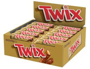 Twix Riegel Keks mit Karamell umhüllt von Schokolade 50g 32er Pack