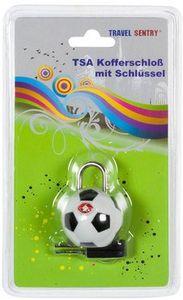 TSA Kofferschloss Fußball Durchmesser 31 mm