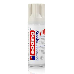 edding Permanent Spray verkehrsweiß 200 ml Premium Acryllack, RAL 9016