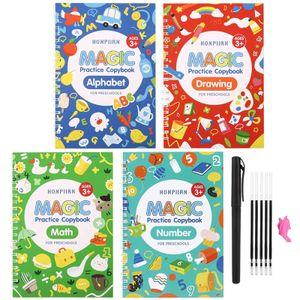 Magic Practice Copybook für Kinder Kalligraphie Arbeitsmappen Set That 20ml