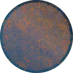 "Komar Vlies Fototapete rund und selbstklebend ""Ornament"" - Größe: 125 x 125 cm (Breite x Höhe) - 1 Stück"