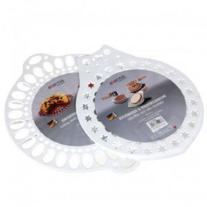 Kuchenheber-Verzierschablone Kunststoff 28 cm