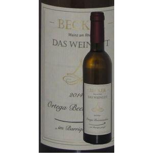 Weißwein Rheinhessen Weingut Becker Ortega    Beerenauslese Barrique edelsüß (1 x 0,375)