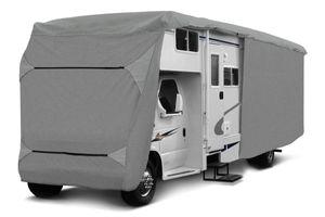 1PLUS Wohnmobil Schutzhülle Schutzhaube für Campingmobile in verschiedenen Größen, Größe Plane:610 x 235 x 275 cm