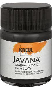 Javana Stoffmalfarbe für helle Stoffe Schwarz