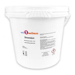 well2wellness Zitronensäure Pulver 5,0 kg