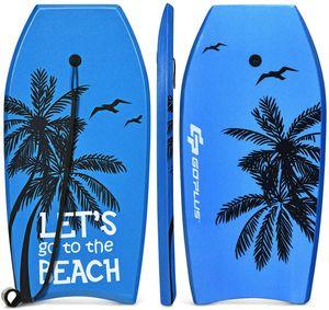 COSTWAY Bodyboard, Schwimmbrett Schwimmboard, Surfbrett Kinder und Erwachsene, Surfboard, Sup-Board 104x51x6cm