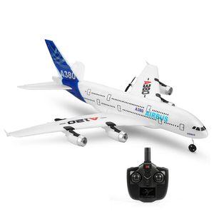 Wltoys XK A120 Airbus A380 Modellflugzeug 3CH EPP 2.4G Ferngesteuertes Flugzeug Starrflügel-RTF-Spielzeug