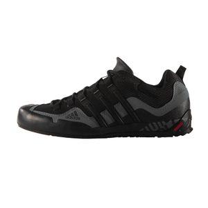 adidas Terrex Swift Solo Herren Trekkingschuhe Wanderschuhe Schwarz Schuhe, Größe:49 1/3