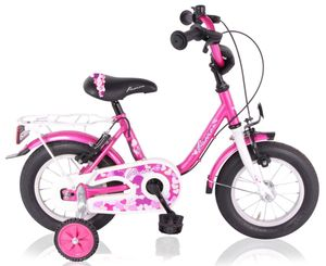 16 Zoll Mädchenfahrrad Kinder Mädchen Fahrrad Bike Rad Kinderrad Kinderfahrrad Mädchenrad PASSION Pink