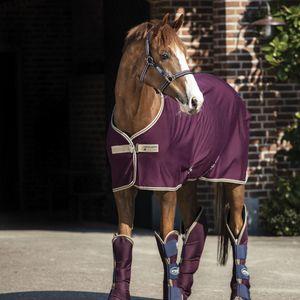 Horseware Amigo Jersey Cooler - Fig/Navy, Größe:145