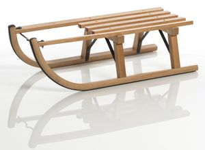 Sirch Davoser Rodel Buche Standard Holzschlitten Rodel ,  80 cm