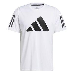 adidas Performance Herren Sport-Fitness-Shirt FreeLift T-Shirt weiss schwarz, Größe:XXL
