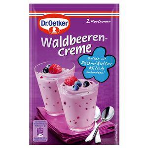 Dr. Oetker Waldbeerencreme Dessert Cremepulver für 2 Portionen 52g