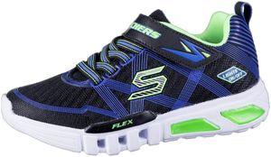 SKECHERS Flex-Glow Jungen Mesh Sneakers black, Skechers Laufsohle, Skechers Fußbett
