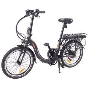 FAFREES 20F054 20 Zoll E-Bike faltbar Pedelec 250W 36V 10Ah 25km/h ,Bis 120KG ,max 40-80 km , Shimano 7 Gang , passend für 155-190cm, Commute bike