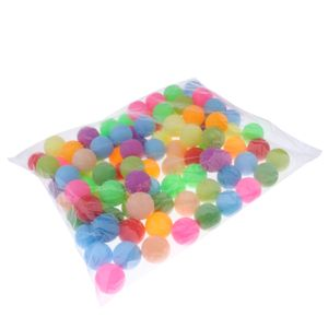 Bunt Tischtennisbälle ohne Aufdruck Trainingsbälle 40mm, 100er / Set