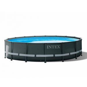 Intex 26326 Ultra Xtr Frame Rund Aufstellpool 488x122cmGestalten: Round, Maße: 4 - 4,99 m, EAN: 6941057413761, Filterpumpe: 26644