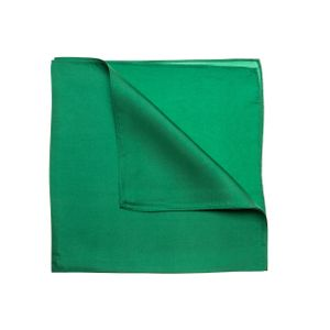 Nickituch Seidentuch grün Twillseide 53x53cm