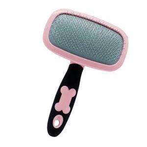 1 Stück Haustier-Haar-Kamm , Farbe Rosa