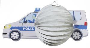 "Motiv-Laterne ""Polizeiauto"""