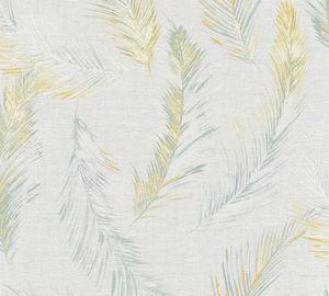 A.S. Création Vliestapete Four Seasons Tapete grau gelb 10,05 m x 0,53 m 358961 35896-1